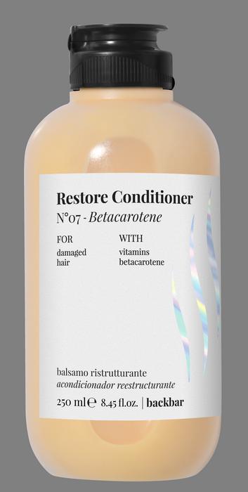 FARMAVITA Кондиционер для восстановления поврежденных волос / BACK BAR RESTORE CONDITIONER №07 250 мл