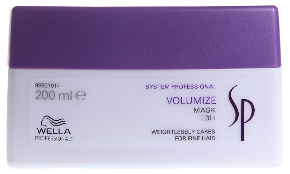 WELLA SP Маска для объема тонких волос / SP Volumize mask 200 мл.