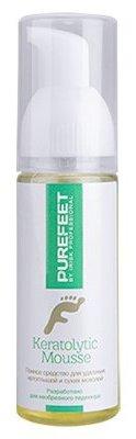 Купить IRISK PROFESSIONAL Средство пенное для удаления натоптышей и мозолей / PureFeet Keratolytic Mousse 60 мл