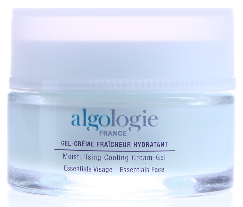 ALGOLOGIE Крем-гель увлажняющий с охлаждающим эффектом 50млКремы<br>Увлажняющий Крем-гель с охлаждающим эффектом обладает легкой и нежирной текстурой, которая хорошо наносится и распределяется по коже, превосходно увлажняя и поддерживая оптимальный уровень увлажнения кожи, сокращая испарение воды. Крем-гель придает коже здоровое сияние, стимулирует синтез аквапоринов в эпидермисе, нейтрализует негативное действие свободных радикалов. Крем полностью соответствует потребностям комбинированной и жирной кожи, а в летний период идеально подходит для всех типов кожи.&amp;nbsp; Активные ингредиенты: Algo3 Complex (вода Гольфстрима, морские водоросли Хондрус Криспус и Alaria Esculenta), экстракты морского критмума, кодиум и Солероса, гиалуронат натрия, сок Алоэ Вера, экстракт огурца, витамин F, масло сладкого миндаля.&amp;nbsp; Способ применения: Наносить на очищенную кожу лица, шеи и декольте утром и/или вечером в зависимости от состояния кожи. Для усиления увлажняющего эффекта дополнительно применяйте ежедневно Увлажняющую сыворотку под Крем и 1-3 раза в неделю Крем-маску увлажняющую.<br><br>Тип: Крем-гель<br>Вид средства для лица: Увлажняющий<br>Время применения: Летний