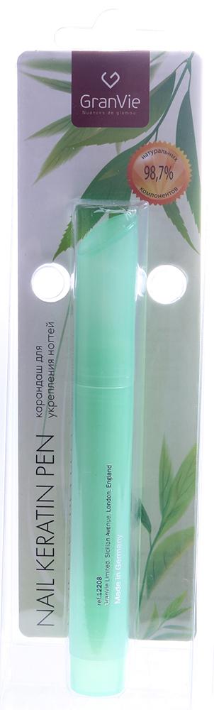 INM Карандаш для укрепления, питания и защиты ногтей / Keratin Pen GranVie 3млЛечебные средства<br>Эликсир максимальной прочности, обогащенный кератином и провитаминами, способствует росту здоровых ногтей, позволяет защитить ногти от скалывания, расслаивания и растрескивания. За несколько дней ногти станут более крепкими и здоровыми.<br><br>Объем: 3
