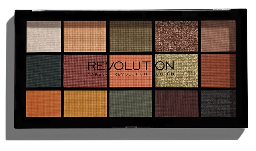MAKEUP REVOLUTION Палетка теней для век / RE-LOADED PALETTE Iconic Division - Тени