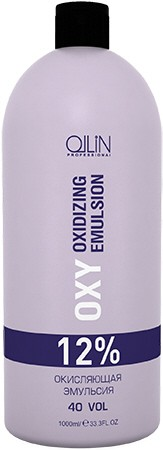 OLLIN PROFESSIONAL Эмульсия окисляющая 12% (40vol) / Oxidizing Emulsion OLLIN performance OXY 1000мл