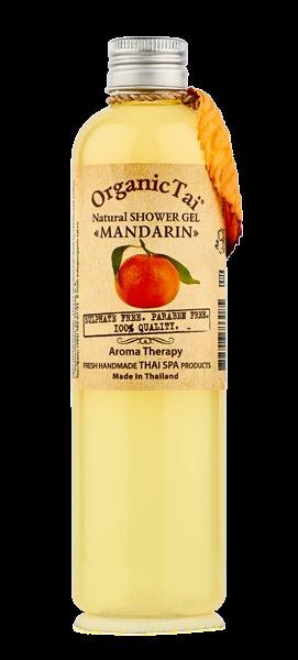 СЭМПЛЫ И МИНИАТЮРЫ ORGANIC TAI Гель натуральный для душа Мандарин 5мл organic tai массажное масло для лица жасмин жожоба и сладкий миндаль 120 мл
