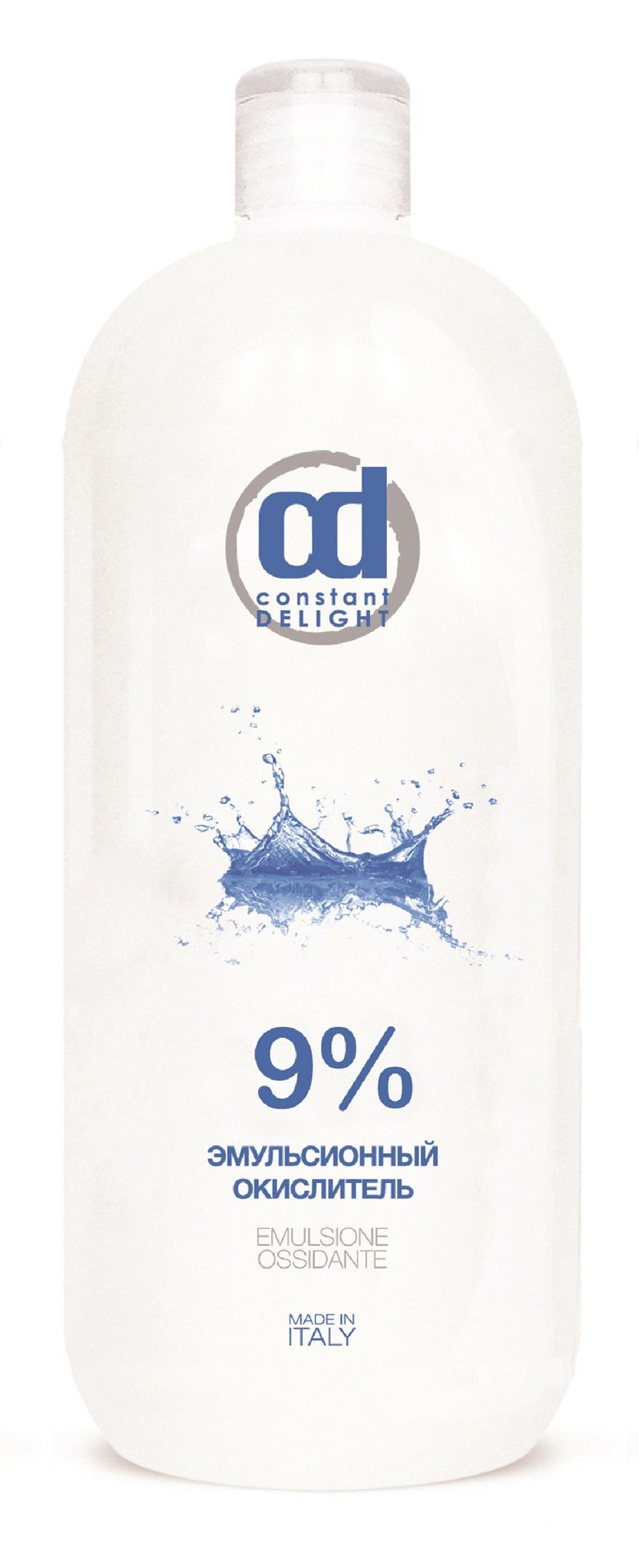 CONSTANT DELIGHT Окислитель эмульсионный 9% белый / Oxigent, 1000 мл
