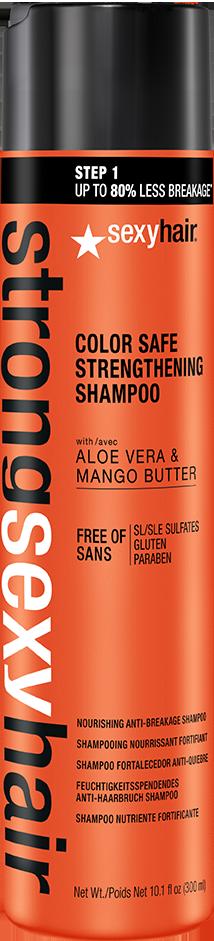 SEXY HAIR Шампунь для прочности волос / Strong 300 мл шампунь для волос мягкий для ежедневного применения шунгит 300 мл