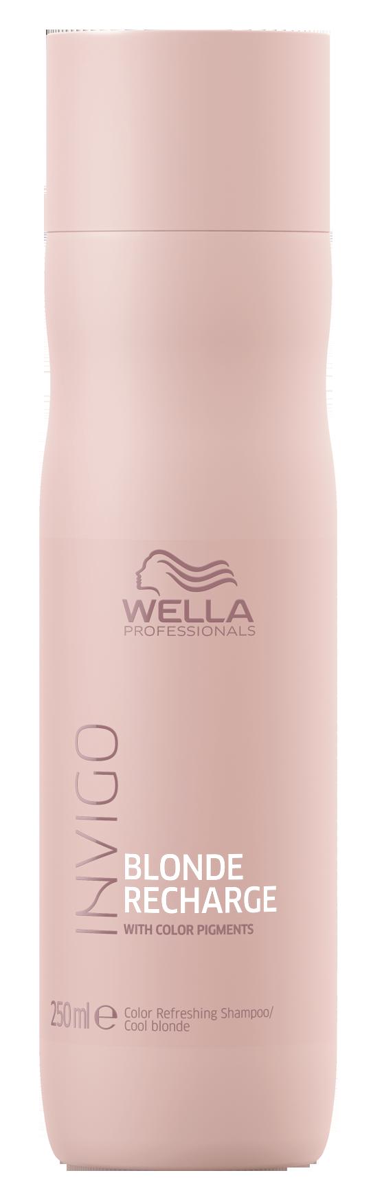 Купить WELLA PROFESSIONALS Шампунь-нейтрализатор желтизны для холодных светлых оттенков / Blonde Recharge 250 мл, Блонд