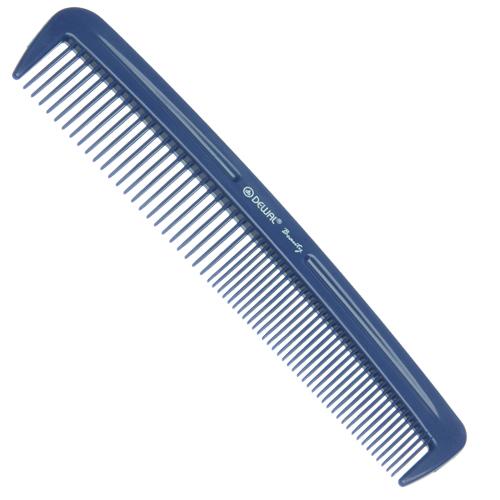 DEWAL BEAUTY Расческа карманная, синяя 12,4 см фото