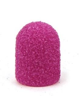 Купить ЧИСТОВЬЕ Колпачок-насадка для педикюра фиолетовый, пластик, 10 мм 80 грит, 10 шт