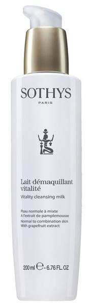 Купить SOTHYS Молочко очищающее с экстрактом грейпфрута для нормальной и комбинированной кожи / ESSENTIAL PREPARING TREATMENTS 200 мл