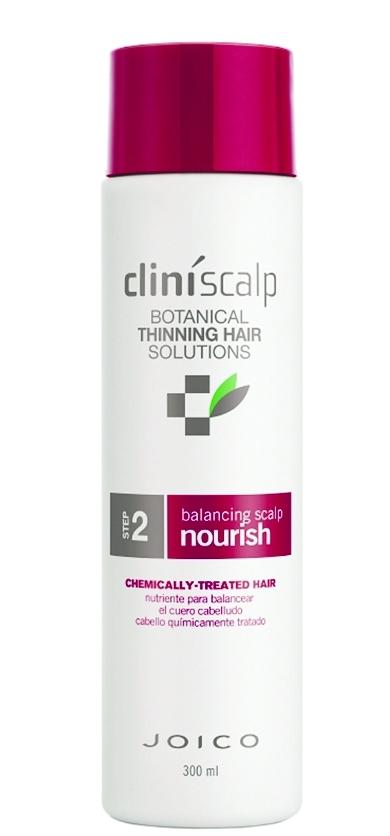 JOICO Кондиционер питательный для окрашенных волос / Balancing Scalp Nourish CTH 300млКондиционеры<br>Шаг 2 - СИСТЕМА УХОДА ДЛЯ ОКРАШЕННЫХ ВОЛОС Кондиционер активно питает волосы и кожу головы, восстанавливает их жизненный баланс, защищает от негативных факторов окружающей среды. Создает оптимальные условия для роста здоровых, плотных волос. Активные ингредиенты: масло подсолнечника, масло розмарина и экстракт плюща глубоко увлажняют волосы и кожу головы, а также защищают их от агрессивного воздействия окружающей среды. Гликопротеин защищает и увлажняет волосы, подвергшиеся химическому воздействию. Сок листьев алоэ вера и мятный бальзам смягчают кожу головы. Женьшень и хмелевые шишки питают и укрепляют кожу головы. Масло листьев перечной мяты создает оптимальные условия для роста здоровых волос. Способ применения: используйте после 1 шага. Нанесите на мокрые волосы, оставьте для воздействия на 1-3 минуты, тщательно смойте. Для достижения наилучших результатов завершите уход с помощью Стимулятора роста для редеющих волос или Cтимулятора роста интенсивного для заметно редеющих волос.<br><br>Вид средства для волос: Питательный<br>Назначение: Выпадение