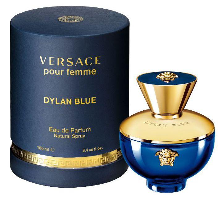Купить VERSACE Вода парфюмерная женская Versace Dylan Blue Pour Femme, спрей 100 мл