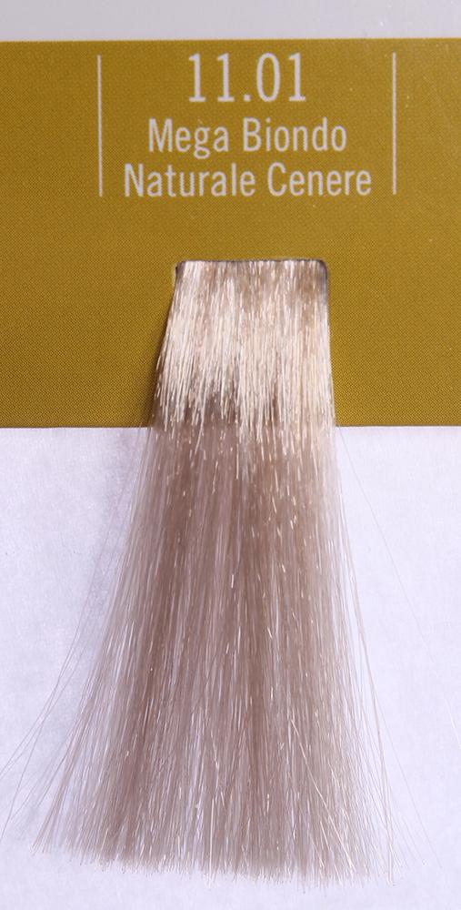 BAREX 11.01 краска для волос / PERMESSE 100млКраски<br>Оттенок: Ультрасветлый блондин натуральный пепельный. Профессиональная крем-краска Permesse отличается низким содержанием аммиака - от 1 до 1,5%. Обеспечивает блестящий и натуральный косметический цвет, 100% покрытие седых волос, идеальное осветление, стойкость и насыщенность цвета до следующего окрашивания. Комплекс сертифицированных органических пептидов M4, входящих в состав, действует с момента нанесения, увлажняя волосы, придавая им прочность и защиту. Пептиды избирательно оседают в самых поврежденных участках волоса, восстанавливая и защищая их. Масло карите оказывает смягчающее и успокаивающее действие. Комплекс пептидов и масло карите стимулируют проникновение пигментов вглубь структуры волоса, придавая им здоровый вид, блеск и долговечность косметическому цвету. Активные ингредиенты:&amp;nbsp;Сертифицированные органические пептиды М4 - пептиды овса, бразильского ореха, сои и пшеницы, объединенные в полифункциональный комплекс, придающий прочность окрашенным волосам, увлажняющий и защищающий их. Сертифицированное органическое масло карите (масло ши) - богато жирными кислотами, экстрагируется из ореха африканского дерева карите. Оказывает смягчающий и целебный эффект на кожу и волосы, широко применяется в косметической индустрии. Масло карите защищает волосы от неблагоприятного воздействия внешней среды, интенсивно увлажняет кожу и волосы, т.к. обладает высокой степенью абсорбции, не забивает поры. Способ применения:&amp;nbsp;Крем-краска готовится в смеси с Молочком-оксигентом Permesse 10/20/30/40 объемов в соотношении 1:1 (например, 50 мл крем-краски + 50 мл молочка-оксигента). Молочко-оксигент работает в сочетании с крем-краской и гарантирует идеальное проявление краски. Тюбик крем-краски Permesse содержит 100 мл продукта, количество, достаточное для 2 полных нанесений. Всегда надевайте подходящие специальные перчатки перед подготовкой и нанесением краски. Подготавливайте смесь крем-краски и молочка-окс