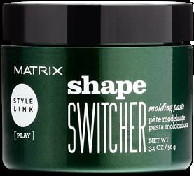 MATRIX Моделирующая паста / STYLE LINK 50млПасты<br>Моделирующая паста Shape Switcher Molding Paste от MATRIX создана для моделирования пластичных укладок без эффекта утяжеления. Легкая в нанесении паста обеспечивает сильную фиксацию, оставляя волосы подвижными, придает мягкий сатиновый блеск. Степень фиксации: 5 Финиш: сатиновый. Преимущества: пластичная фиксация, текстурирование и возможность трансформировать прическу в течение дня. Способ применения: растереть небольшое количество продукта в ладонях. Нанести на влажные или сухие волосы для создания желаемого эффекта. При необходимости нанести дополнительное количество для фиксации формы.<br><br>Объем: 50 мл<br>Вид средства для волос: Моделирующая