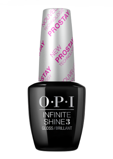 OPI Покрытие верхнее для ногтей / Infinite Shine ProStay Gloss Top Coat 15 мл opi покрытие верхнее быстрая сушка rapidry top coat 15 мл