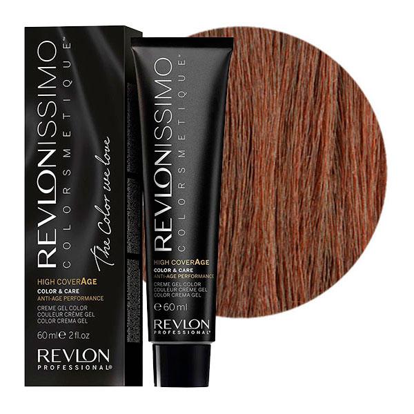 REVLON Professional 6-42 краска для волос, перламутрово-коричневый темный блондин / RP REVLONISSIMO COLORSMETIQUE High Coverage 60 мл краски для волос revlon professional краска для волос rp revlonissimo colorsmetique 5sn светло коричневый супернатуральный