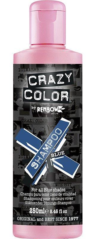 CRAZY COLOR Шампунь для всех оттенков синего / Vibrant Color Shampoo - Blue, 250 мл
