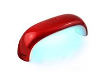 RuNail Лампа LED 9 Вт. (красная)Косметологическое оборудование<br>LED лампа для полимеризации гель-лаков, мультилаков, перманентных лаков и других LED материалов. Предназначена для одной руки или ноги. Помещается на любом столике или в женской сумке.&amp;nbsp; Технические характеристики: мощность   9 Вт; количество светодиодов   3 шт; номинальное напряжение   220В; частота   50-60 ГЦ; таймер   30 сек.; размер: 16,5х8х7 см.<br>