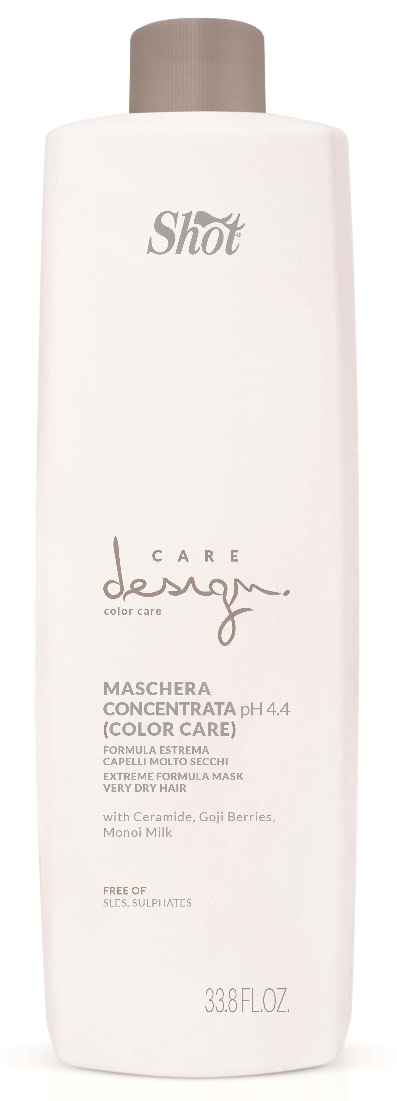 SHOT Маска-концентрат для окрашенных волос / Care Design 1000 мл