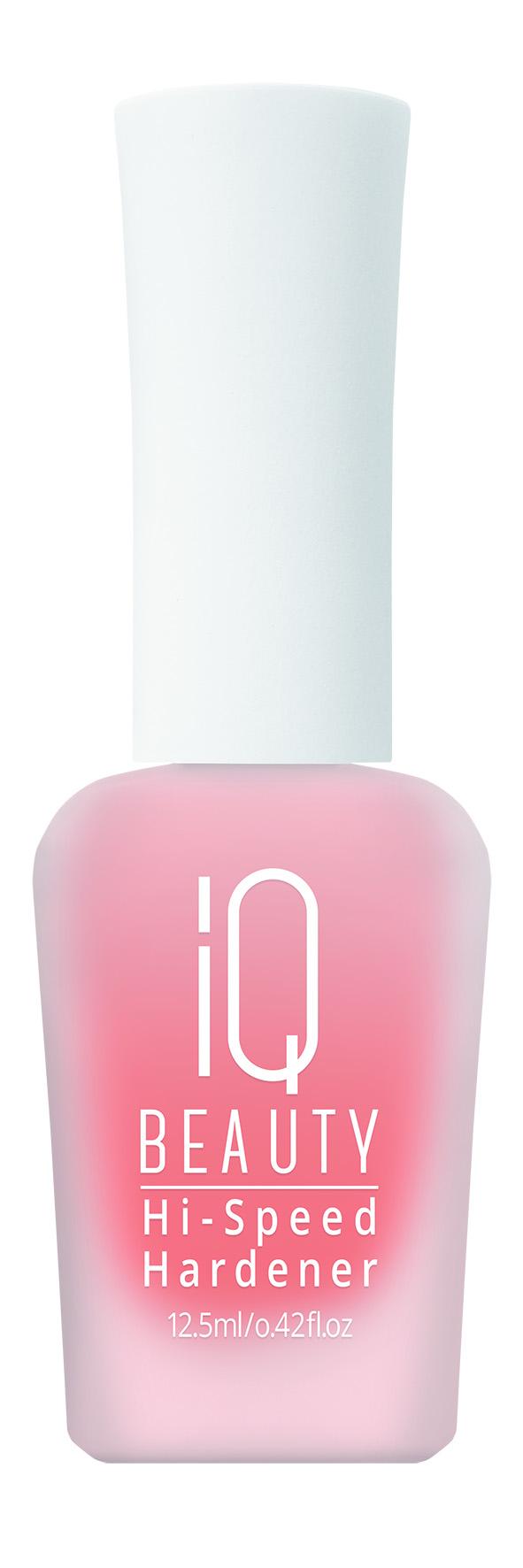 IQ BEAUTY Укрепитель глянцевый для ногтей/Hi-Speed Hardener 12,5млЛечебные средства<br>Природный каротиноид предохраняет от неблагоприятных факторов внешней среды. Антиоксидант. Каротиноид   это вещество, которое преобразуется в витамин А в организме. Натуральный краситель. Экстракт бамбука является богатейшим источником кремневой кислоты. Также содержит : полисахариды, аминокислоты, витамины, минеральные соли. Кремниевая кислота укрепляет ногтевую пластину. Снабжает питательными веществами. Активные ингредиенты: природный каротиноид (CI 77120). Экстракт бамбука обыкновенного (BAMBUSA VULGARIS EXTRACT). Кремниевая кислота (SILICA).<br><br>Объем: 12,5 мл