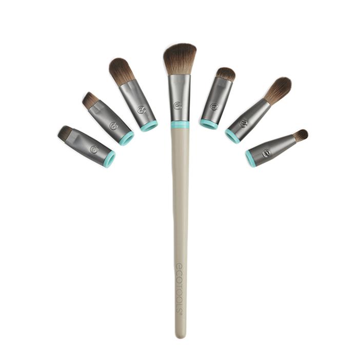 Купить ECOTOOLS Набор кистей для макияжа глаз (7 сменных насадок и 1 ручка) Interchangeables Total Renewal Eye Kit