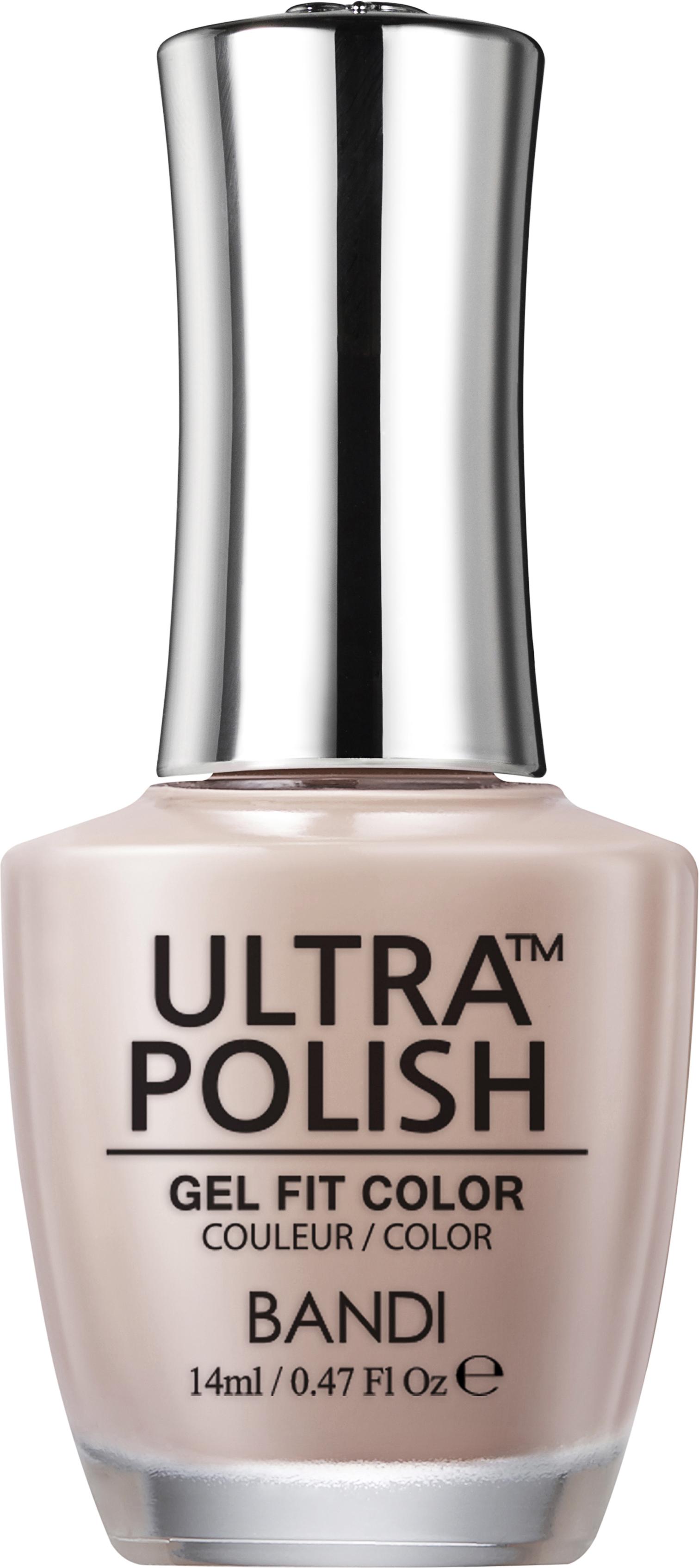 Купить BANDI UP201 ультра-покрытие долговременное цветное для ногтей / ULTRA POLISH GEL FIT COLOR 14 мл, Коричневые