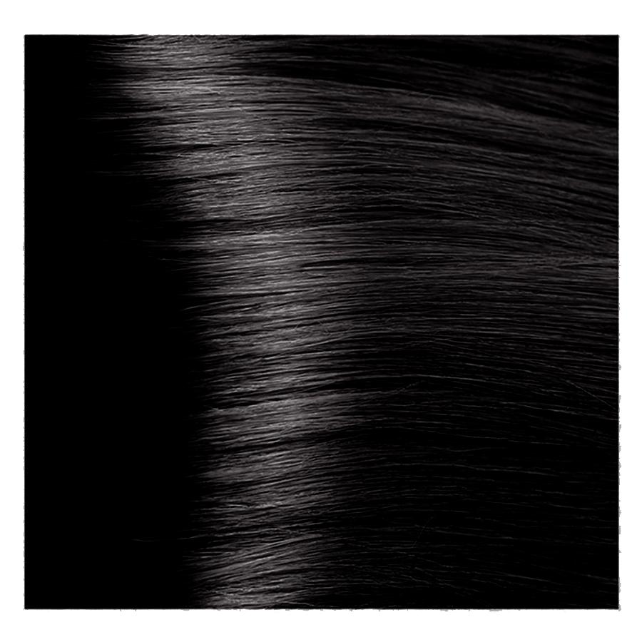 Купить KAPOUS 4.18 крем-краска для волос / Hyaluronic acid 100 мл, Темно-коричневый