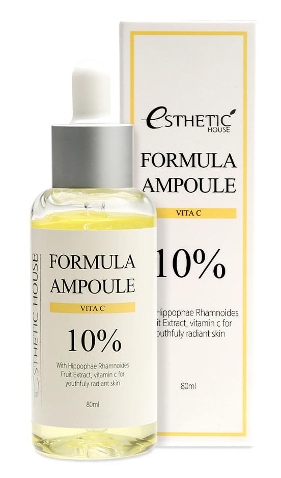ESTHETIC HOUSE Сыворотка с витамином С для лица / FORMULA AMPOULE VITA C 80 мл  - Купить