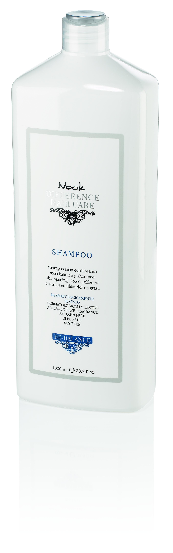 Купить NOOK Шампунь для кожи головы склонной к жирности Ph 5, 0 / DIFFERENCE HAIR CARЕ 1000 мл