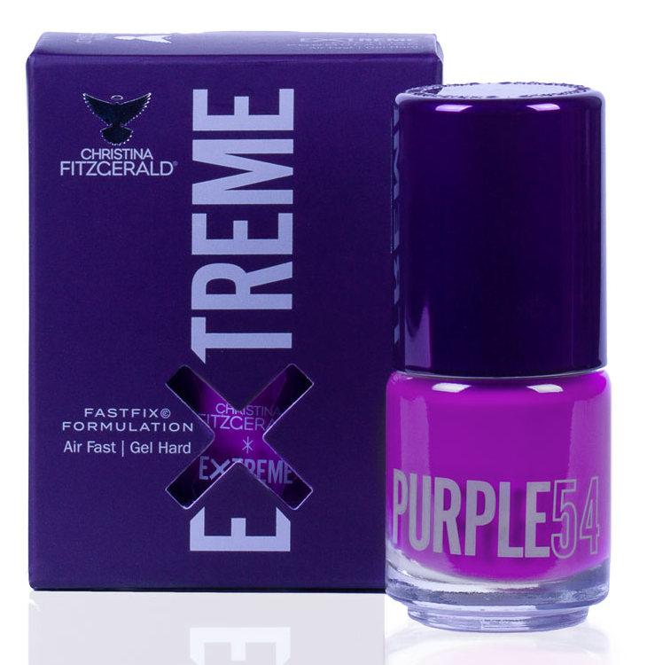 Купить CHRISTINA FITZGERALD Лак для ногтей 54 / PURPLE EXTREME 15 мл, Фиолетовые