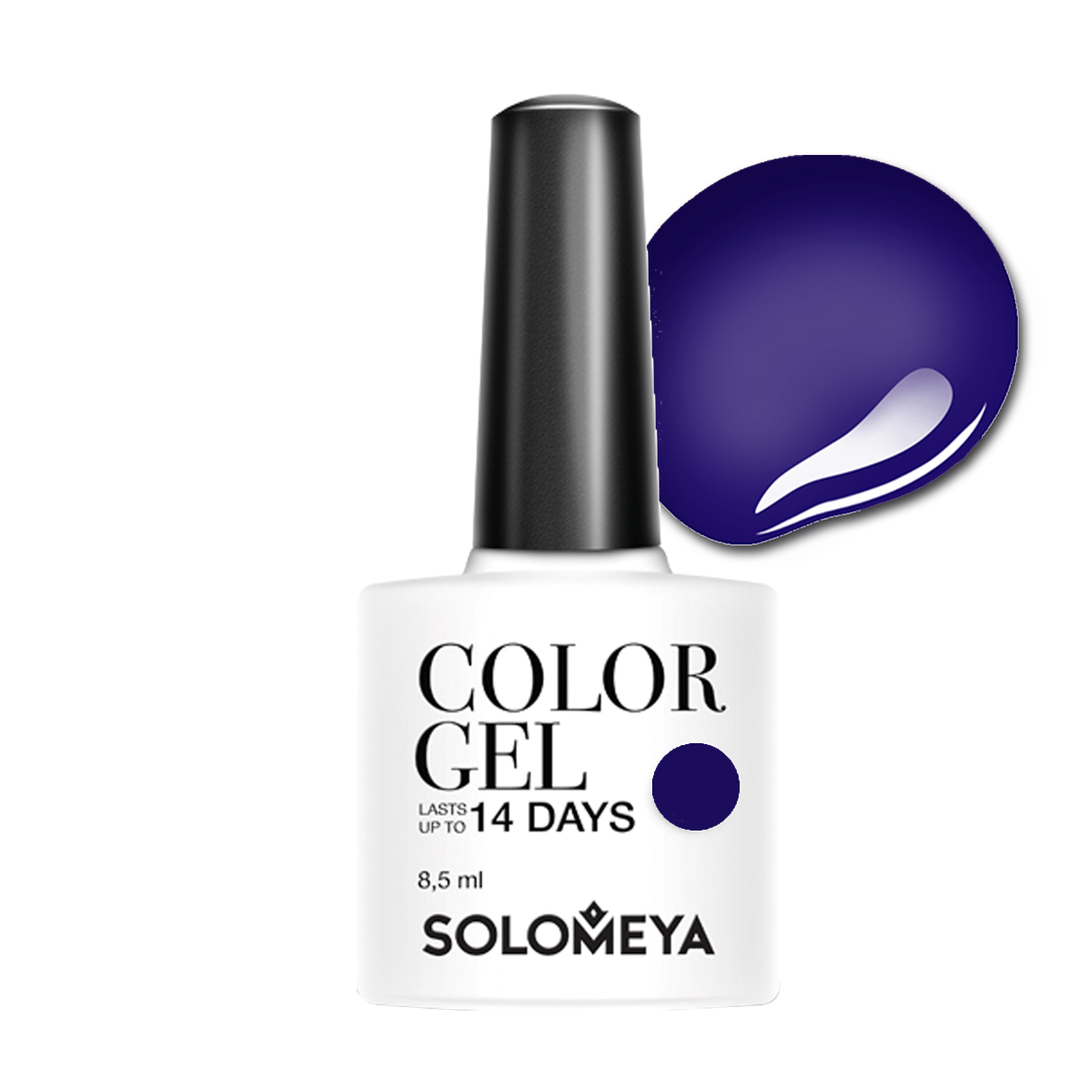 SOLOMEYA Гель-лак для ногтей SCG025 Шарлотта / Color Gel Charlotte 8,5 мл гель лак для ногтей solomeya royal family collection color gel scg025 цвет scg025 charlotte variant hex name 4c4186