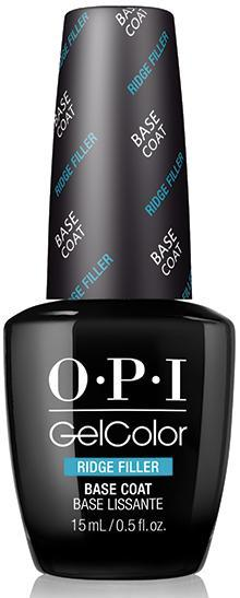 OPI Покрытие базовое выравнивающее для ногтей / Ridge Filler Base Coat GELCOLOR 15 мл