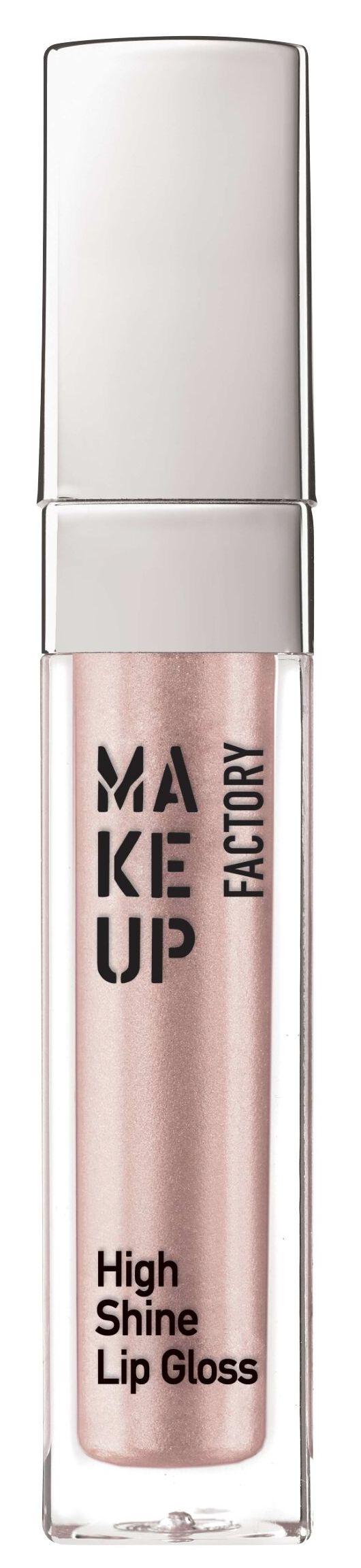 Купить MAKE UP FACTORY Блеск с эффектом влажных губ, 10 молочно-розовый перламутр / High Shine Lip Gloss 6, 5 мл