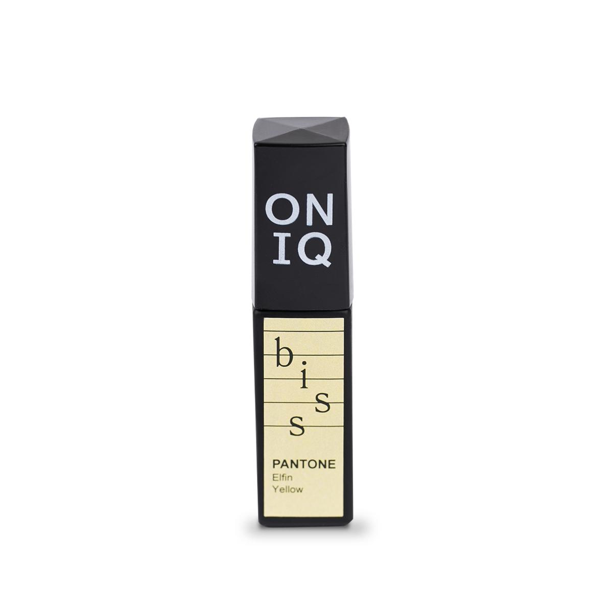 ONIQ Гель-лак для покрытия ногтей, Pantone: Elfin yellow, 6 мл