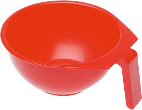 DEWAL PROFESSIONAL Чаша для краски с ручкой (красная) 400 мл