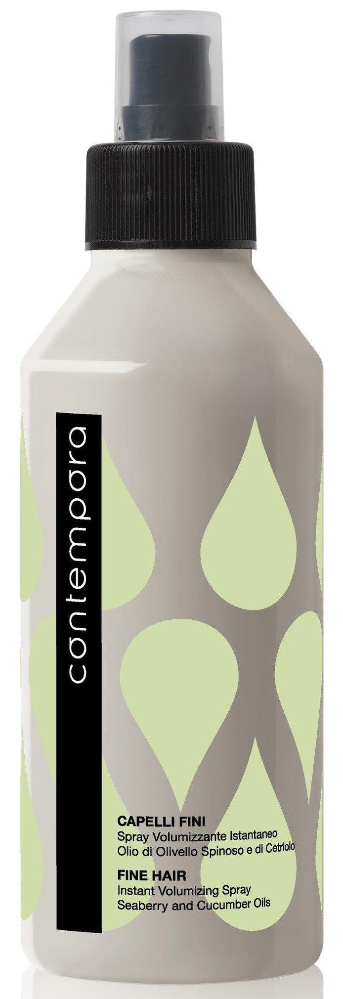 BAREX Спрей для мгновенного объема, с маслом облепихи и огуречным маслом / СОNTEMPORA 200 мл