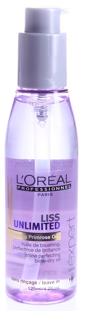 LOREAL PROFESSIONNEL Масло-сияние термозащитное для непослушных волос / ЛИСС АНЛИМИТЕД 125мл