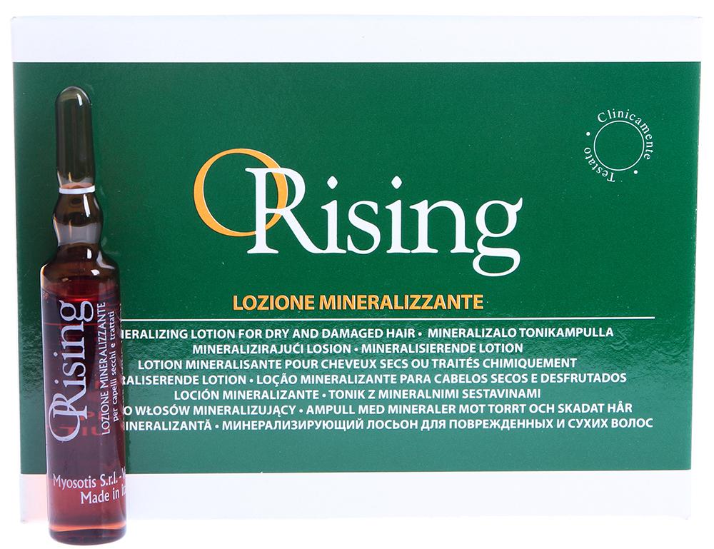 ORISING Лосьон минерализующий для сухих и поврежденных волос 12*10 мл -  Ампулы
