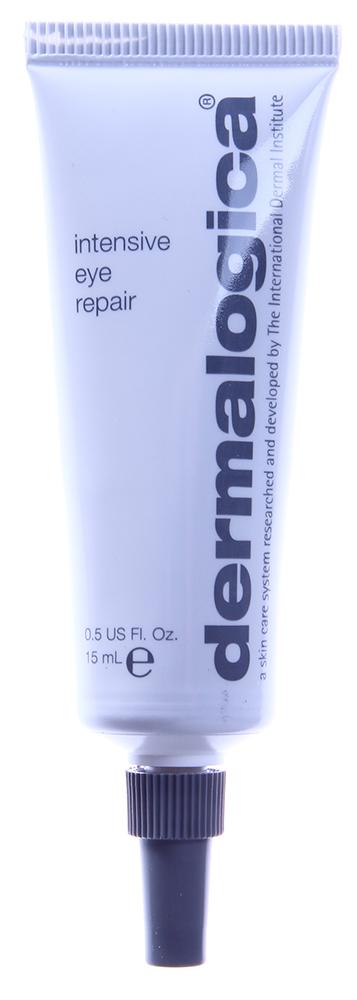 DERMALOGICA Восстановитель интенсивный для глаз / Intensive Eye Repair 15млКремы<br>Интенсивный восстановитель для глаз Intensive Eye Repair - насыщенное питательное средство, которое обеспечивает превосходное увлажнение нежной кожи век, склонной к сухости. В составе средства   витамин С и экстракт дикого ямса, которые препятствуют появлению морщин, и антиоксиданты, которые защищают кожу от воздействия свободных радикалов.&amp;nbsp; Активные ингредиенты: Витамин С, экстракт дикого ямса, антиоксиданты, растительные экстракты.&amp;nbsp; Способ применения: Нанесите небольшое количество средства легкими движениями от наружного угла глаза к внутреннему. Рекомендуется использовать ежедневно, утром и вечером.<br><br>Назначение: Морщины