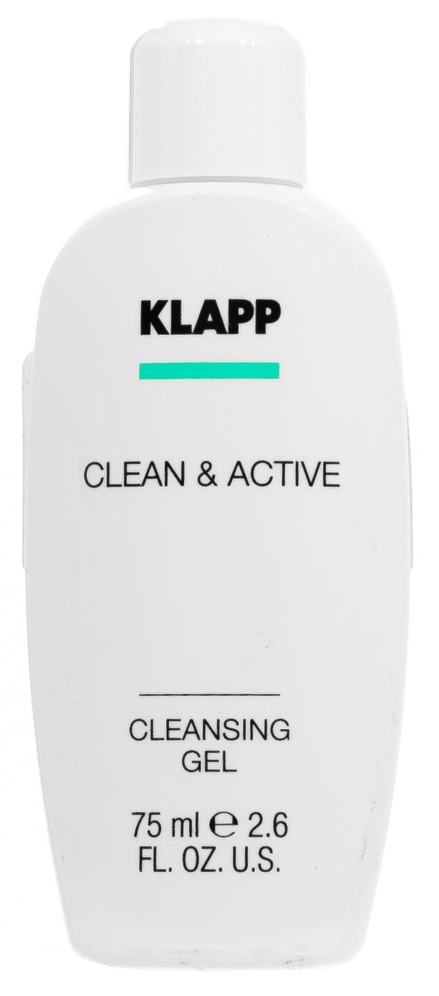 Купить KLAPP Гель очищающий для лица / CLEAN & ACTIVE 75 мл