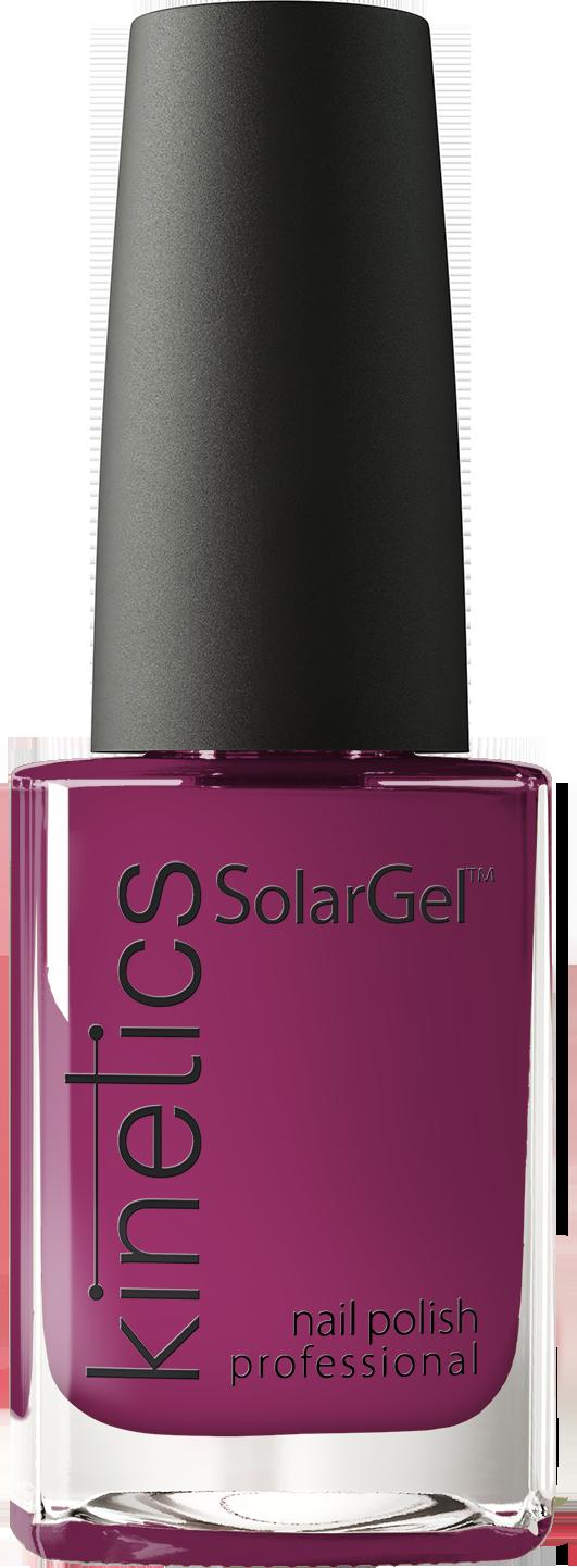 Купить KINETICS 368 лак профессиональный для ногтей / SolarGel Polish Escape 15 мл, Фиолетовые