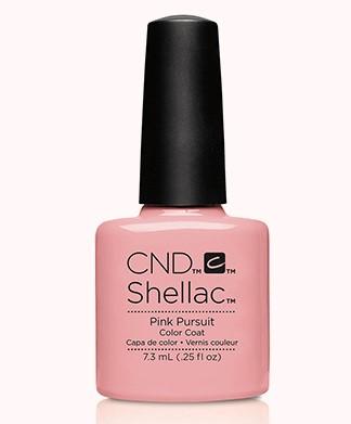 CND 91174 покрытие гелевое Pink Pursuit / SHELLAC Flirtations 7,3мл cnd 083 покрытие гелевое bare chemise shellac 7 3мл