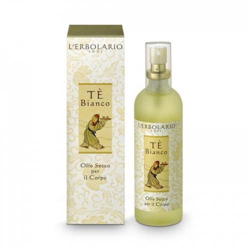 LERBOLARIO Масло сухое для тела Белый чай 100мл