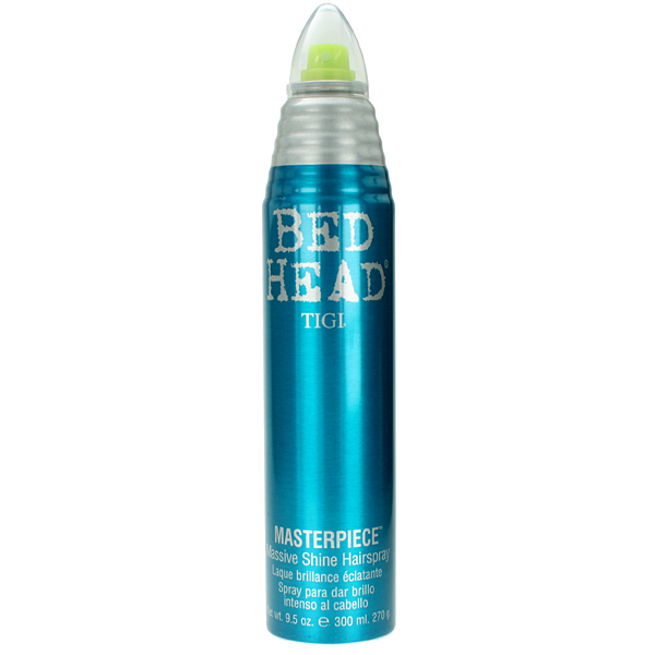 TIGI Лак для блеска и фиксации волос / BED HEAD Masterpiece Massive, 340 мл