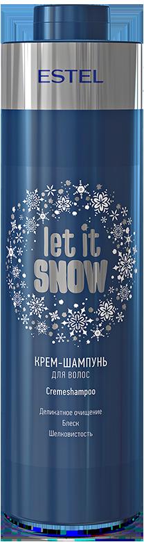 ESTEL PROFESSIONAL Крем шампунь для волос / Let it Snow 1000 мл