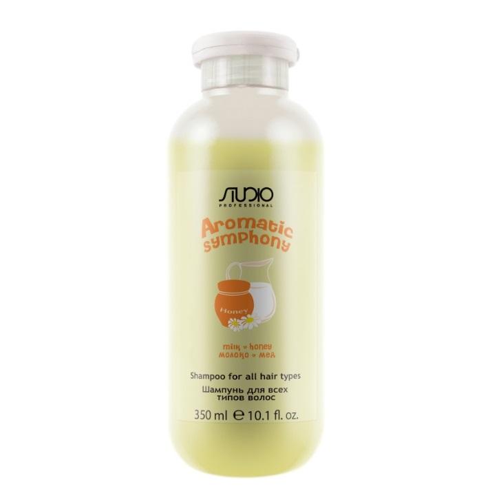 Купить KAPOUS Шампунь для всех типов волос Молоко и мед / Aromatic Symphony 350 мл