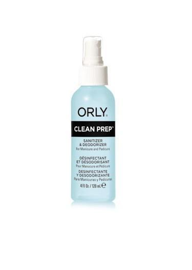 ORLY Спрей очищающий / Clean Prep 120 мл спрей моющий для дезинфекции и ликвидации запахов zoo clean зоосан
