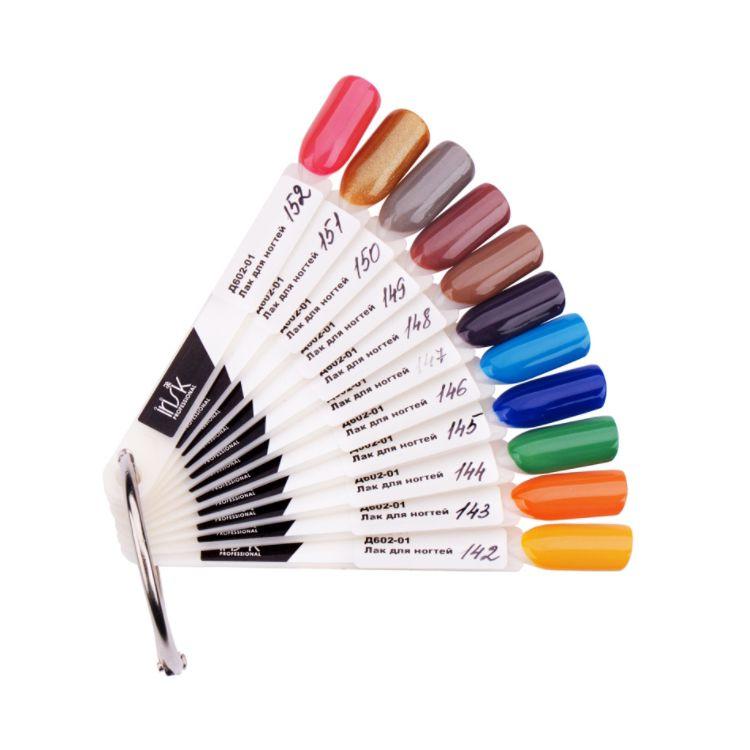 Купить IRISK PROFESSIONAL Палитра цветов лака для ногтей веер Д602-01 / IRISK NEW 05, 11 цветов