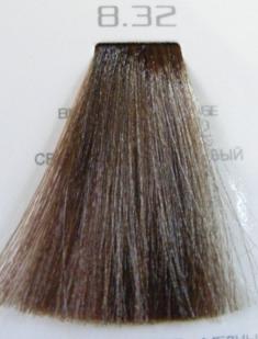 HAIR COMPANY 8.32 краска для волос / HAIR LIGHT CREMA COLORANTE 100млКраски<br>Профессиональная стойкая крем-краска для волос. Результат последних разработок ведущих специалистов и продукт высоких технологий. Профессиональная стойкая крем-краска Hair Light Crema Colorante богата натуральными ингредиентами и, в особенности, эксклюзивным мультивитаминным восстанавливающим комплексом. Новейший химический состав (с минимальным содержанием аммиака) гарантирует максимально бережное отношение к структуре волос. Применение исключительно активных ингредиентов и пигментов высочайшего качества гарантирует получение однородного и стойкого цвета, интенсивных и блестящих, искрящихся оттенков, кроме того, дает полное покрытие (прокрашивание) седых волос. Тона профессиональной стойкой крем-краски Hair Light Crema Colorante дают возможность парикмахеру гибко реагировать на любые требования, предъявляемые к окраске волос. Наличие 5 микстонов и нейтрального (бесцветного) микстона, позволяет достигать результатов окраски самого высокого уровня. Применение: Смешать Hair Light Crema Colorante с Hair Light Emulsione Ossidante в пропорции 1:1,5. Время воздействия 30-45 мин.<br><br>Цвет: Бежевый и коричневый<br>Объем: 100<br>Вид средства для волос: Стойкая<br>Класс косметики: Профессиональная