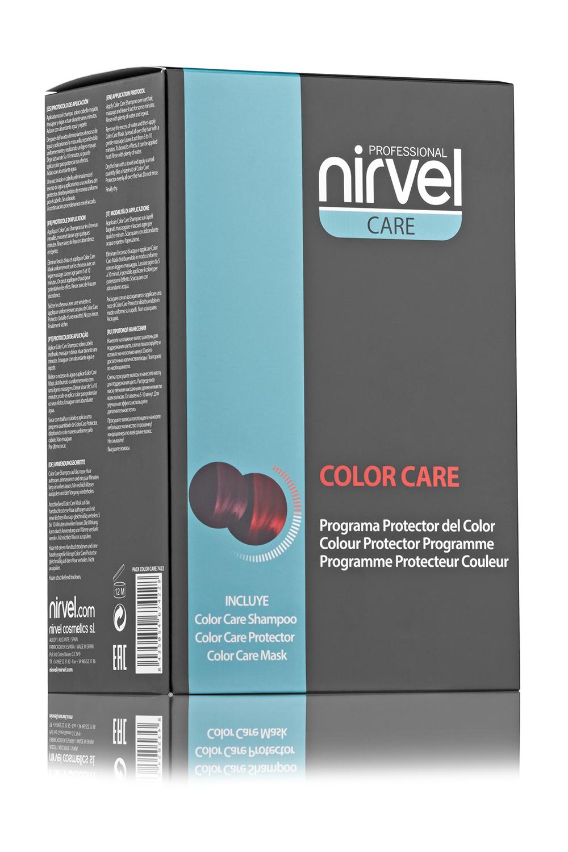 Купить NIRVEL PROFESSIONAL Набор для окрашенных волос (шампунь 250 мл, маска 250 мл, сыворотка 150 мл) / COLOR CARE PACK